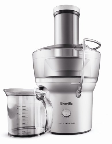 Breville BJE200XL Compact Juice Fountain 700-Watt Juice Extractor Home Juicer