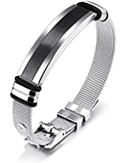 Simple Bracelet For Men Mesh Strap Band Jewelry