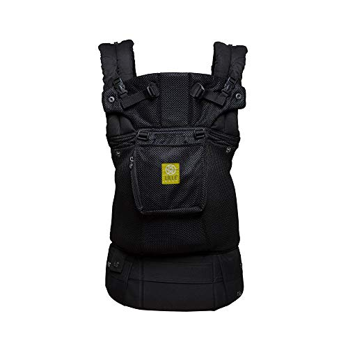 LÍLLÉbaby Complete Airflow 6-in-1 Ergonomic Baby & Child Carrier, Black - Breathable Mesh