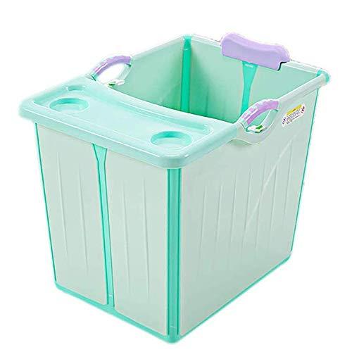 Inklapbare badkuip, verticale grote ruimte opvouwbare babybadkuip opvouwbare douchecabine inklapbaar voor kinderen 15 jaar oud