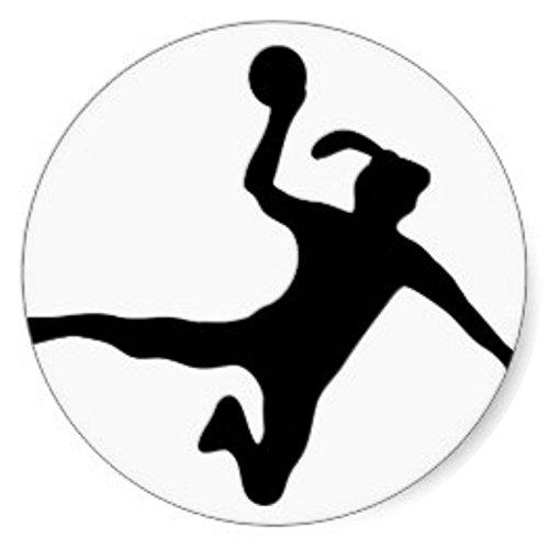 Tortenaufleger Tortenfoto Aufleger Foto Bild Handball rund ca. 20 cm (1) *NEU*OVP*