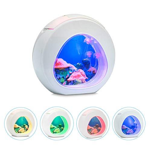 LED-Quallenlampe, Nachtlicht für Kinder, Aquarium, Nachtlicht, LED, USB, Aquarium, Dekoration, Innendekoration, Simulation von Quallen