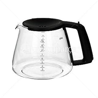 Braun Kf147/Kf145/Kf140 Kahve Makinesi Cam Demlik