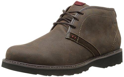 Dunham Men's Revdash Chukka Boot,Brown,10.5 D US