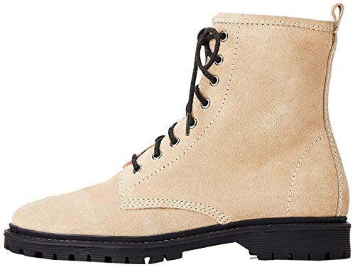 find. Lace Up Chunky Botas Desert, Marrón Sand, 38 EU