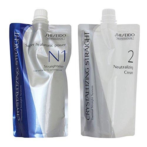 Shiseido Crystallizing Straight For Natural to Sensitized hair N1+2 400g
