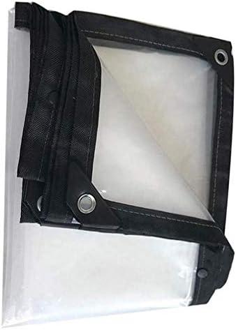 SACYSAC Transparante waterdichte cover plastic gordijn balkon stofdichte regendoek winddicht transparant dekzeil