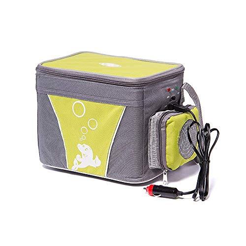 ZL Mini-Auto-Kühlschrank, tragbare Bier-Gefrierschrank-Kühltasche, kleine elektrische Kühlbox, Heizung, Auto, Outdoor, Camping, Reisen, Getränke, Heimbüro