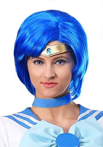 Fun Costumes Sailor Moon Sailor Mercury Wig Standard