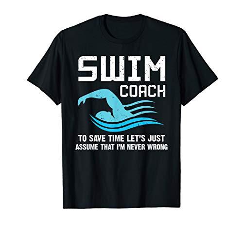 Swim Teacher Gifts Swimming Coach T-Shirt