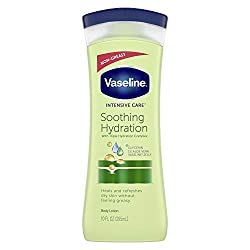 Vaseline Intensive Care hand and body lotion Soothing Hydration 10 oz