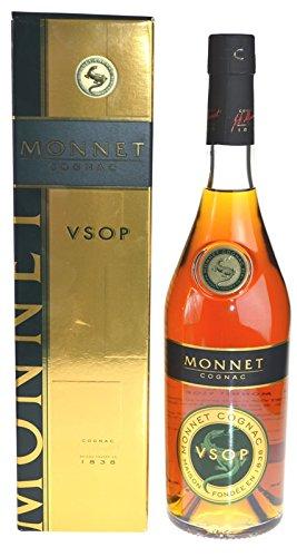 Monnet Cognac VSOP, The Generous Monnet, 40%vol. 0,7 Liter