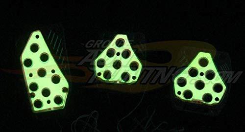 Kit pedalier lumineux - NA150YW - Jaune - 12V ADNAuto