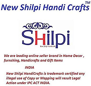 New Shilpi Handicrafts Teak Board Cabinet/Storage Cabinet