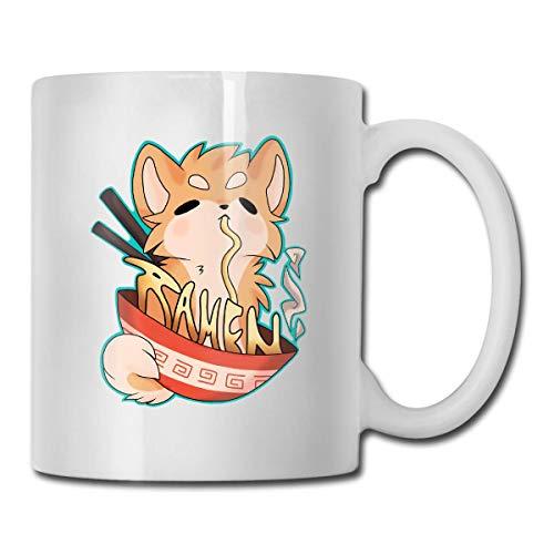 Ramen Pup - Taza de cerámica para café y té