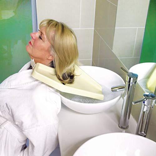 Homecraft Haarwäsche Fach für Wasch- oder Spülbecken Leicht zu Shampoo & Zustand Ältere und Behinderte, Reduce Zurück Strain, Convenient Frisieren, waschen, während im Rollstuhl oder Stuhl