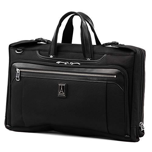Travelpro Plaitnum Elite-Tri-Fold Carry-On Garment Bag, Shadow Black, 20-Inch