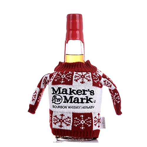 Maker's Mark Kentucky Straight Bourbon Whisky 45% - 700ml with Maker's Mark Pullover