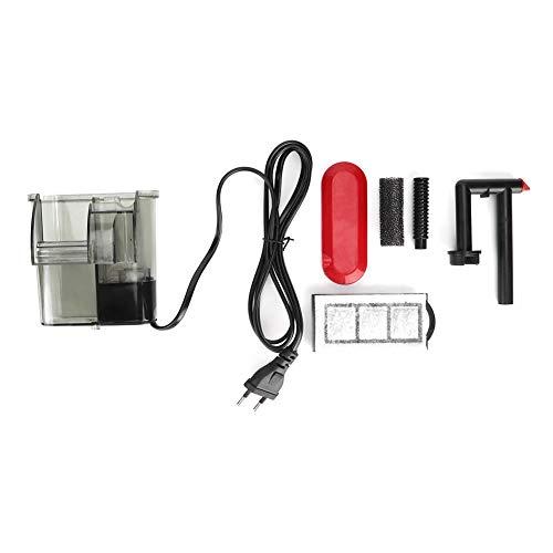 Pssopp filter voor aquaria, intrekbare filterpomp, 220 V, circulatiesysteem voor aquarium, met beschermhoes, 120L/H
