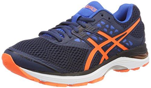 Asics Gel-Pulse 9, Zapatillas de Running para Hombre, Azul (Dark Blue/Shocking Orange/Victoria Blue 4930), 50.5 EU