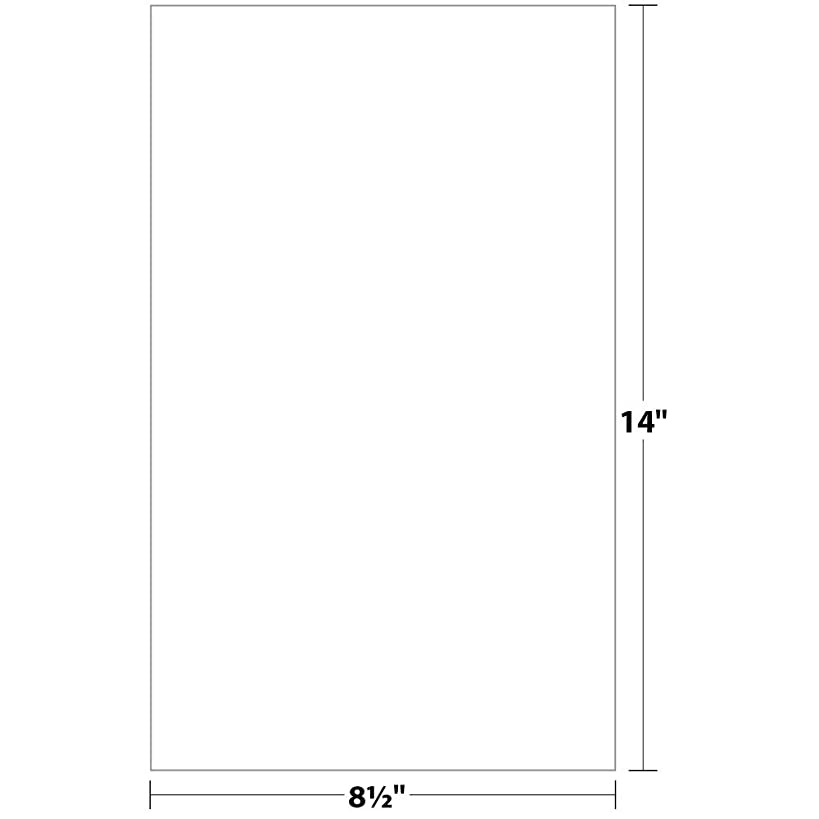 Springhill Index Digital Cardstock Paper, 110 lbs., 8.5 x 14 inch, Legal Size, White, 250 Sheets/Pack