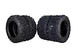 Dual compound 6-ply bias construction for a more durable tire. Lug design dedicated not only for superior grip but extra side wall protection too. Dynamic tread pattern provides unmatched puncture resistance and rugged durability. Rugged Tread patter...