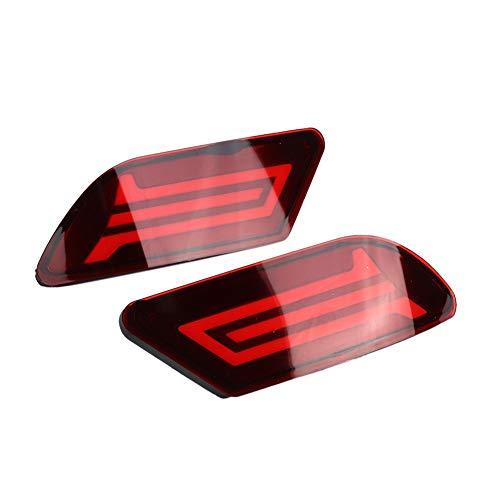 Duokon 2 stuks LED-autolampen, drievoudige functie, achterlicht, auto, 12 V, vliegtuig, model voor Sylphy 2016 – 2017