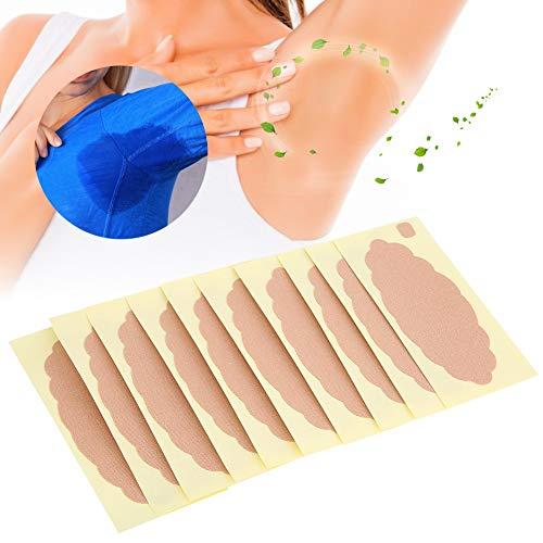 Anti sueur Pad, Déodorant Aisselle Patch Unisexe Absorbant La Sueur Sous Les Aisselles Pad Autocollant Antisudorifique Pad 10 pcs