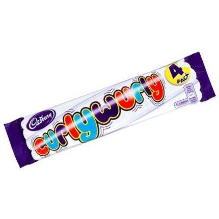 Cadbury Chocolates Variety Pack 4 Crunchie + 4 Flake + 4 curly wurly