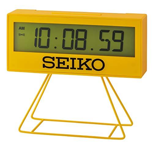 Seiko Uhr, Kunststoff, gelb, Standard