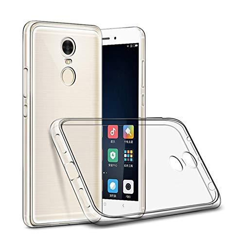 KDLLK Custodia per Telefono,per Xiaomi Redmi 3 PRO 152mm 4 PRO 4 4X Versione ProGlobal Custodia Antiurto Custodia per Telefono Trasparente