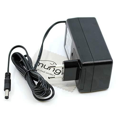Ladegerät passend für AVM Fritz!Box 3390, 3490, 5140, 6430 Cable, 6840 LTE, 7390, 7560 Ladekabel Kabel Fritzbox Netzladegerät OTB mit mungoo Displayputztuch