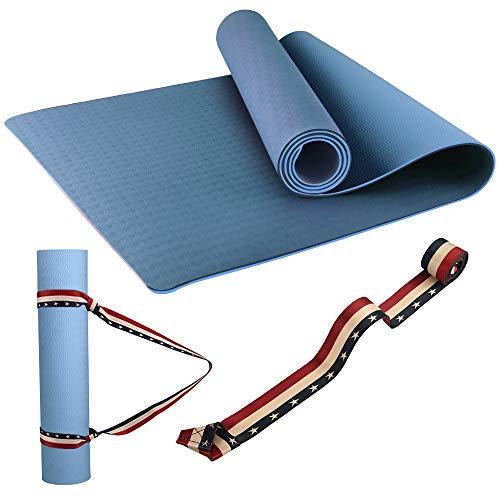 Yoga Mat,Premium Non-Slip Exercise Mats Fitness Mat with...