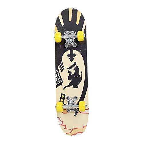 OVINEE Skateboards Maple Mini Dark Dye Holz-Skateboard Skateboard Skateboard Skateboard Sola für Jungen und Mädchen Skates