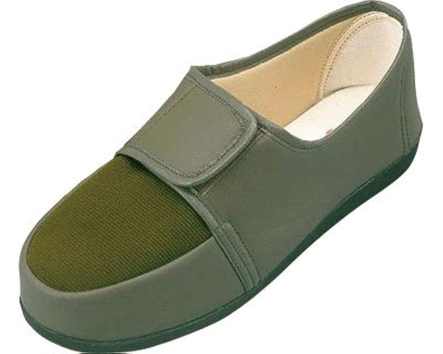 プット傑作アルファベットリハビリシューズ 両足 婦人用 23.0cm カーキ W603 (マリアンヌ製靴) (シューズ)(返品不可)