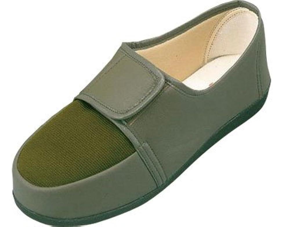 装備するエンゲージメント汚染リハビリシューズ 両足 紳士用 27.0cm カーキ GM603 (マリアンヌ製靴) (シューズ)(返品不可)