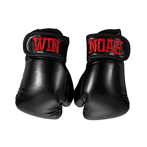 Custom Embroidery Kids Boxing Gloves, Personalized Name Youth Boxing Training Gloves, Sparring...