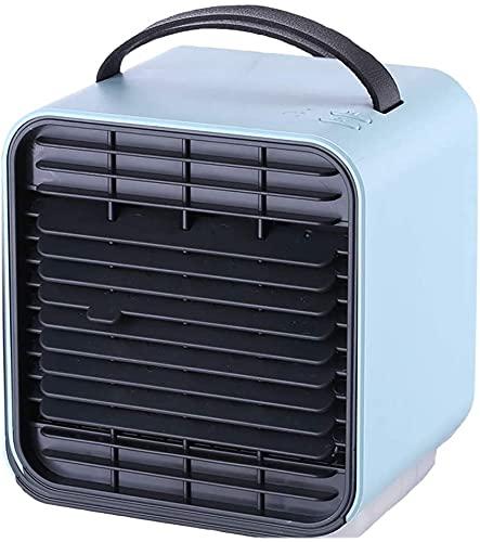 XJYDS Raffreddamento aria, USB Condizionatore per raffreddamento portatile, Night Palmare Ioni negativi, Ventilatore di raffreddamento ad acqua Piccolo fan Condizionata, 3 in 1 Mini Mini Mobile Person