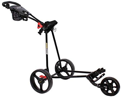 Golfwagen Bullet 5000 professional, klappbar mit mit leicht-Klick-System schwarz
