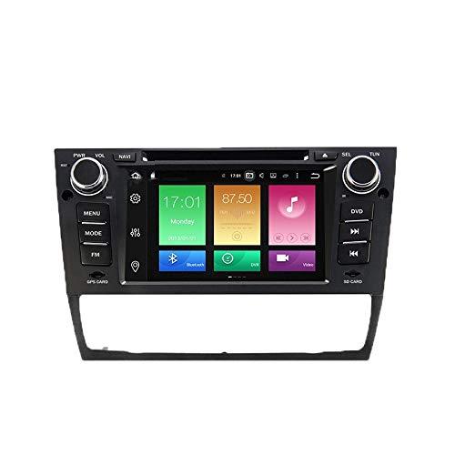 WHL.HH para BMW Serie 3 E90 E91 E92 E93 2006-2011 Androide 8 Auto Radio GPS Navegación Cabeza Unidad Tocar Pantalla Navegación por satélite SWC Bluetooth Multimedia Jugador