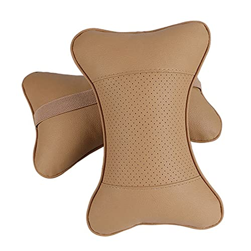 LMMY 2 PCS Protección de Almohada de Cuero Artificial de Cuero Su Cuello/Cazador de Cuello de Cazador de Cazadores de excavación de Agujeros/Suministros automáticos Almohada de Cuello de Seguridad