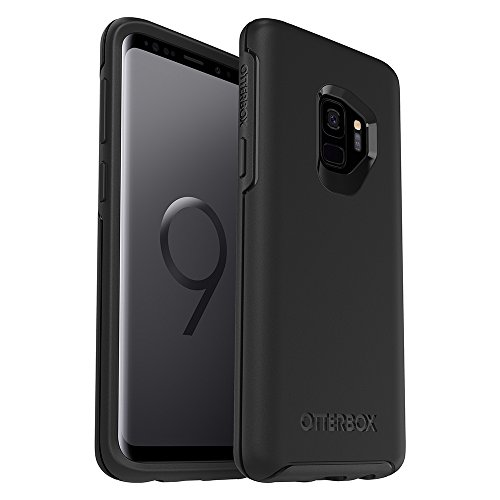 OtterBox SYMMETRY SERIES Case for Samsung Galaxy S9 - Retail Packaging - BLACK