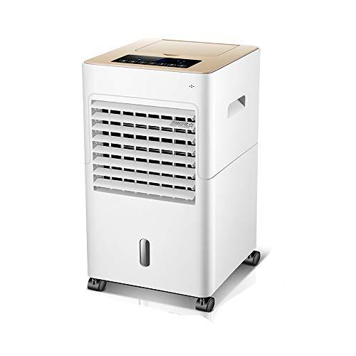 ACEWD Air Cooler Condizionatore, Raffrescatore d Aria Evaporativo, Raffreddatore d Aria, con Telecomando 3 velocità della Ventola Timer 12 Ore per Uso Domestico E in Ufficio, Bianco
