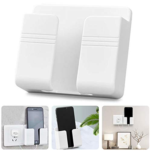 Phone Holder Wall Mounted - ZSWQ Damage-Free Wall Mount for...