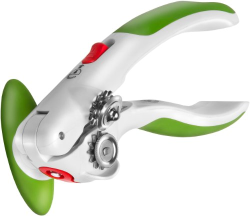 """Zyliss ZYLISS️ Lock N' Lift Can Opener with Lid Lifter Magnet, Green, 7.5"""""""