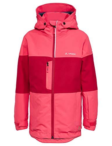 VAUDE Unisex Kinder Kids Snow Cup Jacket Jacke,bright pink, 122/128