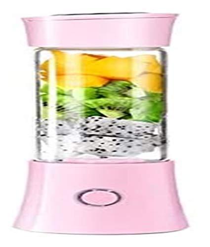 LHAHGLY Mini Copa eléctrica Multifuncional Fruta de la Fruta Juicer Copa portátil USB Recargable exprimidor electrico (Color : Pink)