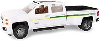 John Deere 1: 16 Big Farm Chevrolet 3500 Dealership Truck, White