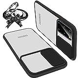 Coque Avec Protection Caméra Glissante Compatible Avec Samsung S21 Ultra...