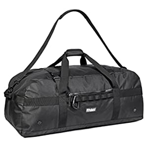 Fitdom Heavy Duty Extra Large Sports Gym Equipment Travel Duffel Bag W/ Adjustable Shoulder & Compression Straps. Perfect for Team Coaches & Best for Soccer Baseball Basketball Hockey Football & More